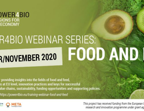 POWER4BIO webinar series: Food and feed