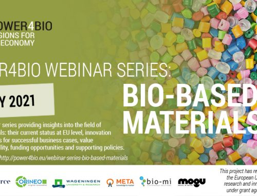 Recordings of POWER4BIO webinar series: Bio-based materials