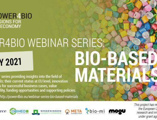 POWER4BIO webinar series: Bio-based materials